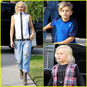 Gwen Stefani: Birthday Party with Kingston & Zuma!