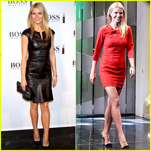 Gwyneth Paltrow: 'Boss' Fragrance Launch in Madrid!