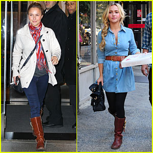 Hayden Panettiere: New York Press Day!