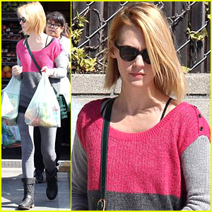 January Jones: Friday Grocery Gal!