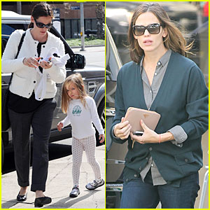 Jennifer Garner: Karate Class with Seraphina!