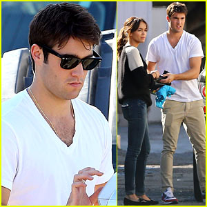 Josh Bowman & Ashley Madekwe: Furniture Shopping Friends!