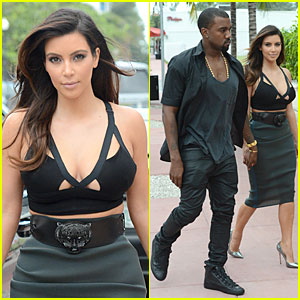 Kanye West & Kim Kardashian: Prime 112 Dinner Date!
