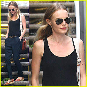 Kate Bosworth Tweets About Great Kiss
