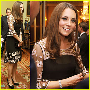 Duchess Kate: Team GB Olympic & Paralympic Royal Reception!