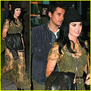 Katy Perry & John Mayer: Big Apple Date Night!