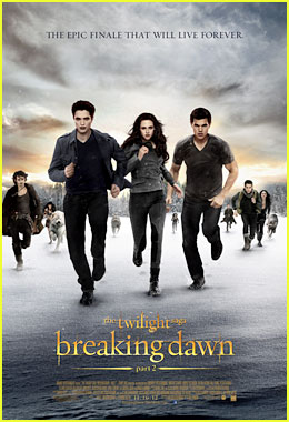 Kristen Stewart & Robert Pattinson: 'Twilight Saga: Breaking Dawn - Part 2' Final Poster Revealed!