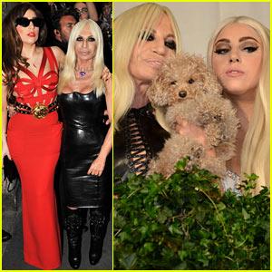 Lady Gaga: Milan Meeting with Donatella Versace!