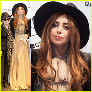 Lady Gaga: LennonOno Grant For Peace Awards