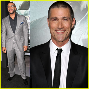 Matthew Fox: 'Alex Cross' Premiere with Tyler Perry!