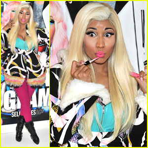 Nicki Minaj: 'Viva Glam' London In-Store Appearance!