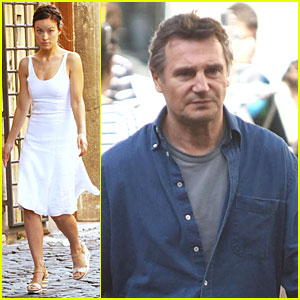 Olivia Wilde: 'The Third Person' Set with Liam Neeson!