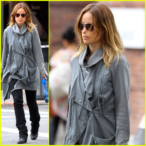 Olivia Wilde: West Village Walk with Paco!