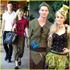 Patrick Schwarzenegger: Halloween Parties with AJ Michalka!