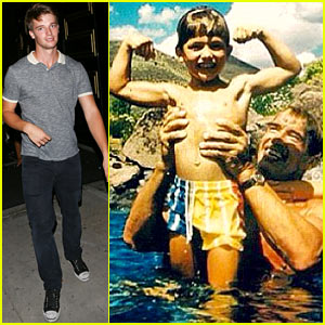 Patrick Schwarzenegger Shares Vintage Childhood Muscle Picture!