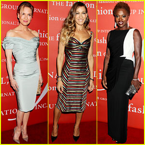 Renee Zellweger & Sarah Jessica Parker: Fashion Group's Night of Stars!