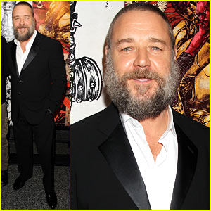 Russell Crowe: 'Man with the Iron Fists' Special Screening!