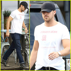 Ryan Gosling is the Man in Motion!