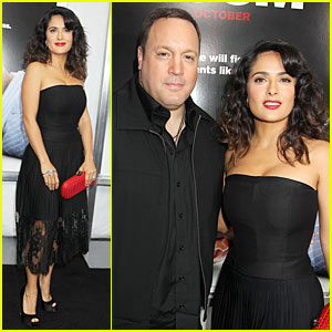 Salma Hayek: 'Here Comes The Boom' New York Premiere!