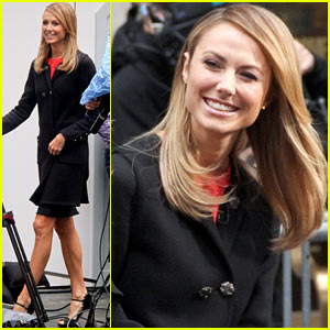 Stacy Keibler on George Clooney: He's Good At Everything!