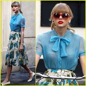 Taylor Swift: 'Begin Again' Video Shoot & 'Red' Preview Clip!