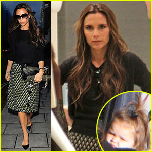 Victoria beckham is not pregnant celebrity babies david beckham