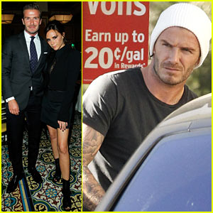 Victoria & David Beckham: CFDA/Vogue Fashion Fund Dinner!