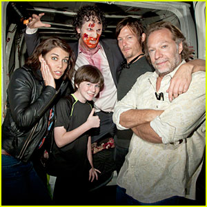 'Walking Dead' Cast: Halloween Horror Nights!
