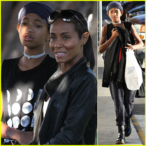 Willow Smith: Girls Day Out with Mom Jada Pinkett Smith!