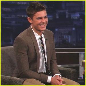 Zac Efron: 'Jimmy Kimmel Live' Appearance