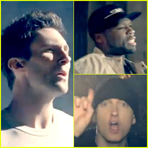 50 Cent ft. Eminem & Adam Levine: 'My Life' Video Premiere!