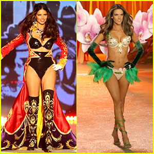 Adriana Lima &#038; Alessandra Ambrosio - Victoria's Secret Fashion Show 2012