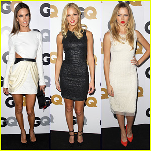 Alessandra Ambrosio & Erin Heatherton - GQ Men of the Year Party 2012