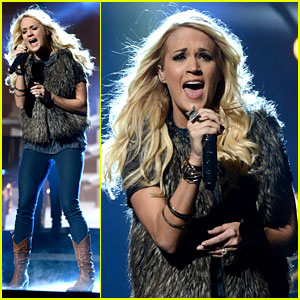 Carrie Underwood - AMAs Rehearsals 2012