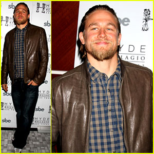Charlie Hunnam: 'Sons of Anarchy' Party at the Bellagio!