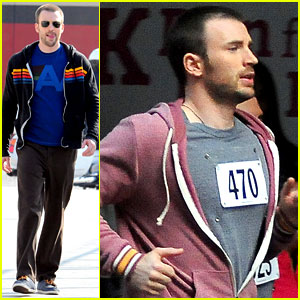 Chris Evans: 'Splintered Thing' Marathon Runner!