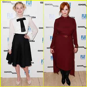 Elle Fanning: 'Ginger &#038; Rosa' Screening with Christina Hendricks!