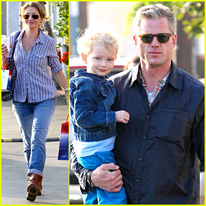 Eric Dane & Rebecca Gayheart: Holiday Shopping with Billie!