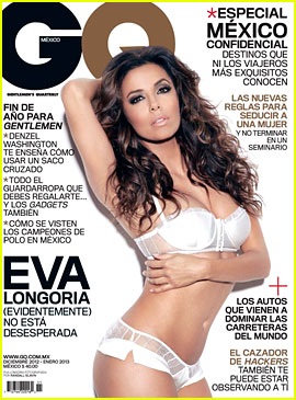 Eva Longoria: Lingerie Lady for 'GQ Mexico'!