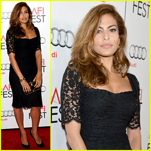 Eva Mendes: 'Holy Motors' AFI Screening!