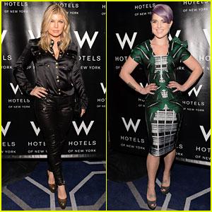 Fergie & Kelly Osbourne: W Hotel Hangover Ball!
