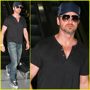 Gerard Butler: See Ya Later, L.A.!