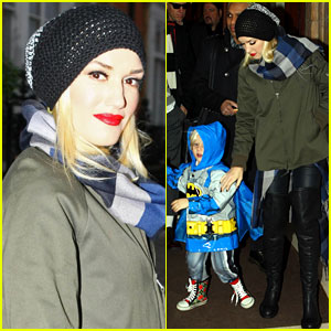 Gwen Stefani Steps Out After