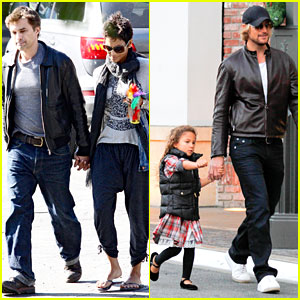 Halle Berry & Olivier Martinez: Early Thanksgiving Party!