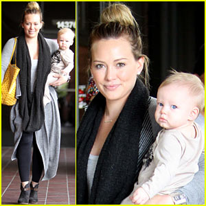 Hilary Duff: Harley Pasternak Fitness Mom!
