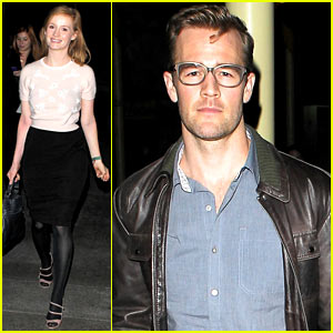 James Van Der Beek: Movie Date with Wife Kimberly Brook!