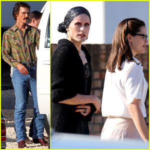 Jennifer Garner & Jared Leto: 'Dallas Buyers Club' Set!