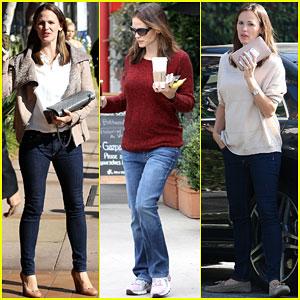 Jennifer Garner: Busy in Brentwood!