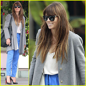 Jessica Biel: Ivy By the Shore Lunch!