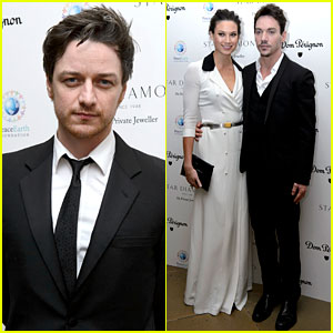 Jonathan Rhys-Meyers & James McAvoy: PeaceEarth Gala!